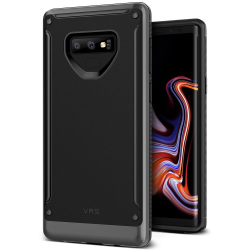 VRS Design High Pro Shield Case for Samsung Galaxy Note 9 - Steel Silver