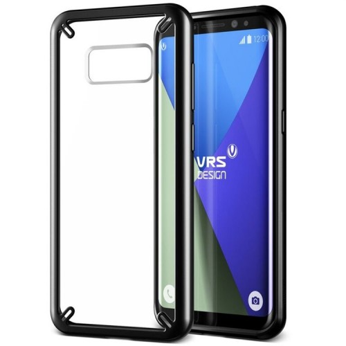 VRS Design Crystal MIXX Case for Samsung Galaxy S8 Plus - Black