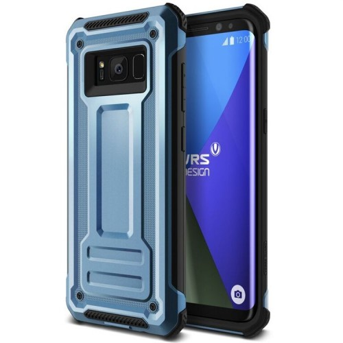 VRS Design Terra Guard Case for Samsung Galaxy S8 - Blue Coral