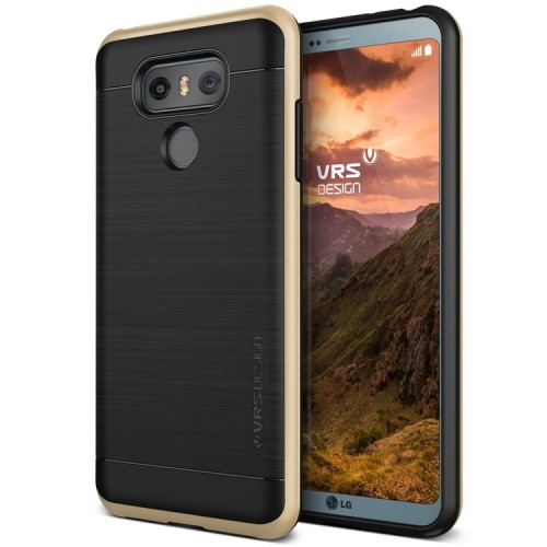 VRS Design High Pro Shield Case for LG G6 - Shine Gold